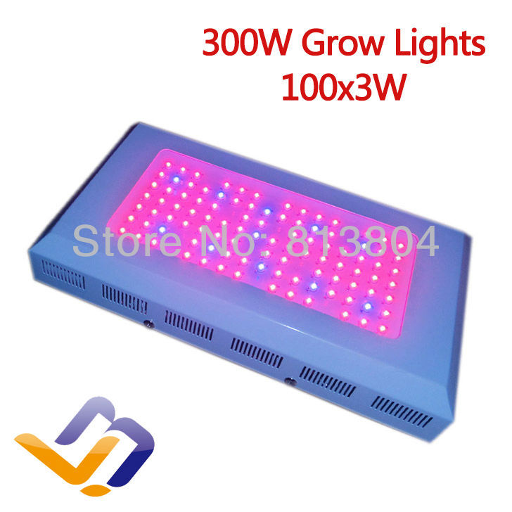 300W Led Grow Light with Super Harvest new 3W 100 red lights 660nm Wave led plant lamps 5000H Life-time 3 years Warranty(China (Mainland))