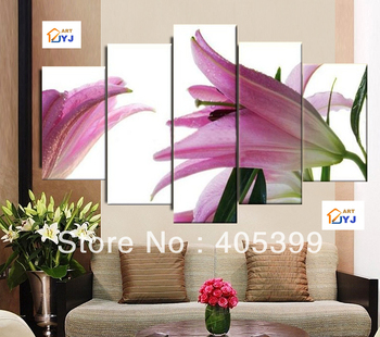 Free shipping !!! Huge Gallery Quality 5 Panels/Set,100%  Handmade  Modern Oil Painting On Canvas ,Home Decor Wall Art G141