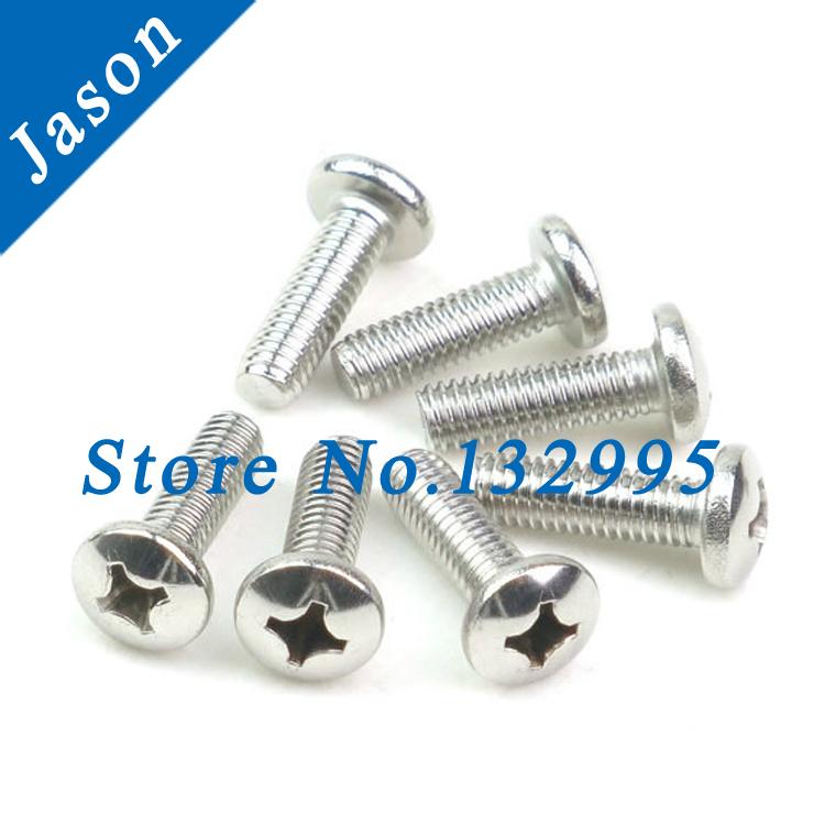 M3*45  DIN7985 Stainless steel A2 Pan Head (Cross recessed pan head) Machine Screws(SUS 304 DIN7985 M3*L)<br><br>Aliexpress
