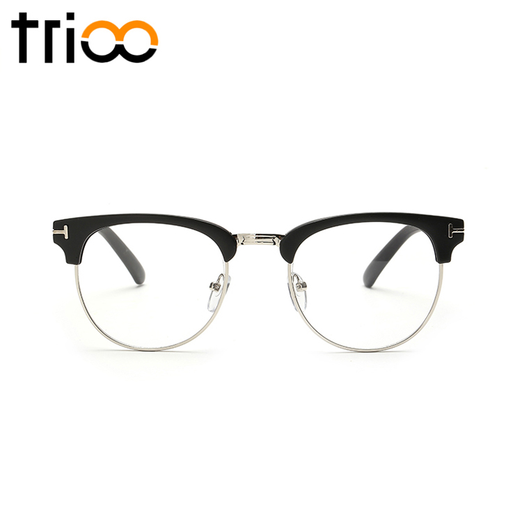Aliexpress.com : Buy TRIOO Semi Rimless Black Gafas de sol ...
