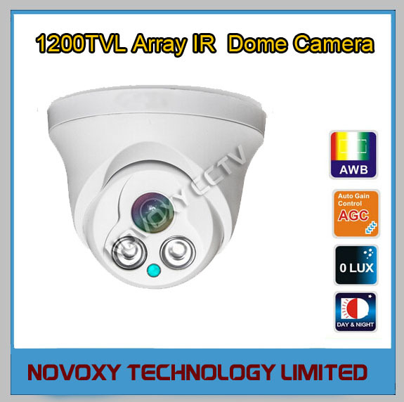 1200TVL Array LED IR 30m Indoor Eyeball Dome Camera 3.6/6/8/mm Lens-Low Cost CMOS Security CCTV Monitoring - NOVOXY TECHNOLOGY LIMITED store