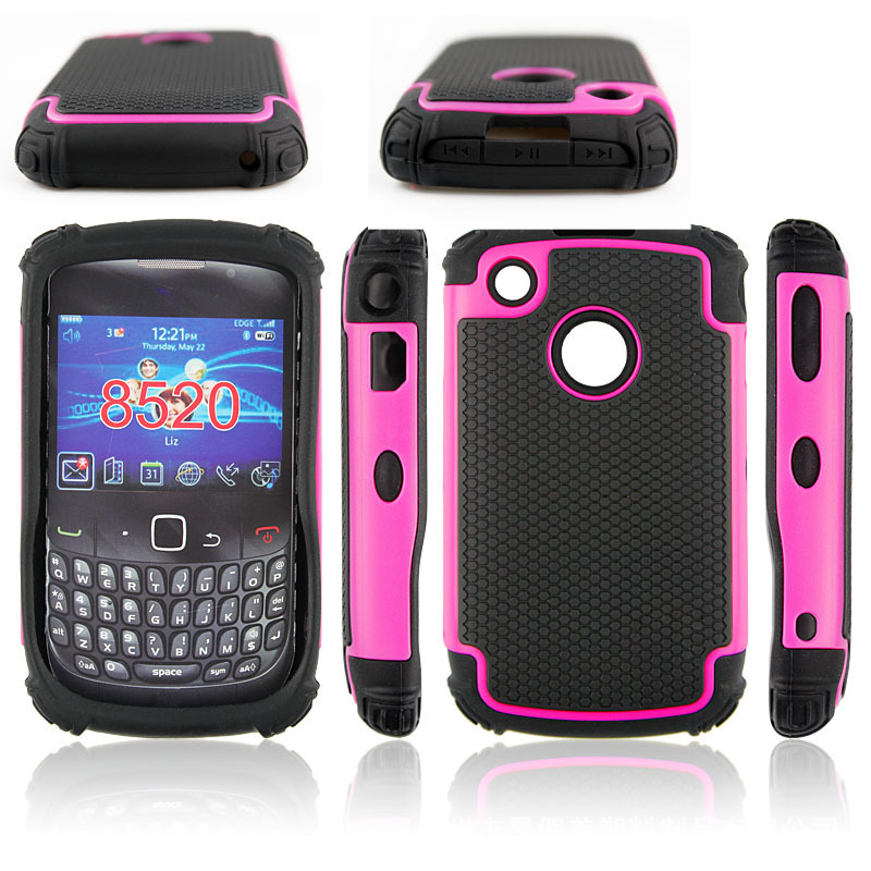 200pcs/lot Combo Case Hybrid Hard Case For BlackBerry 8250 Football Line Dropproof Shockproof Case Hard Cover Free Shipping(China (Mainland))