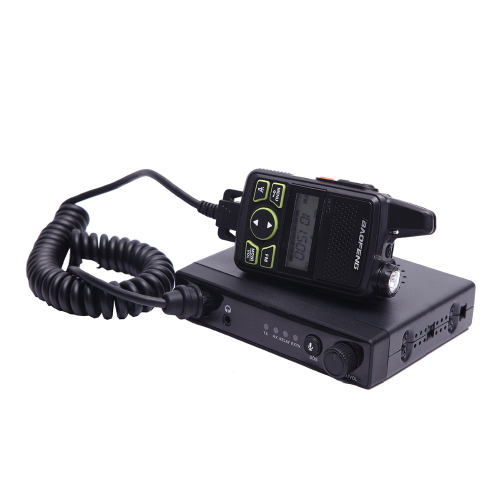 Baofeng MINI Mobile Radio 15W Power Output and UHF 400-420MHz Max 20 Saving Channel Frequency Portable Car Radio A7215A(China (Mainland))