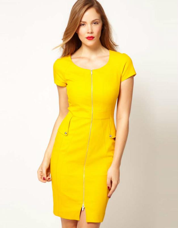 Luxury Com  Buy 2014 Winter Dress Women Work Wear Women39s Casual Dresses