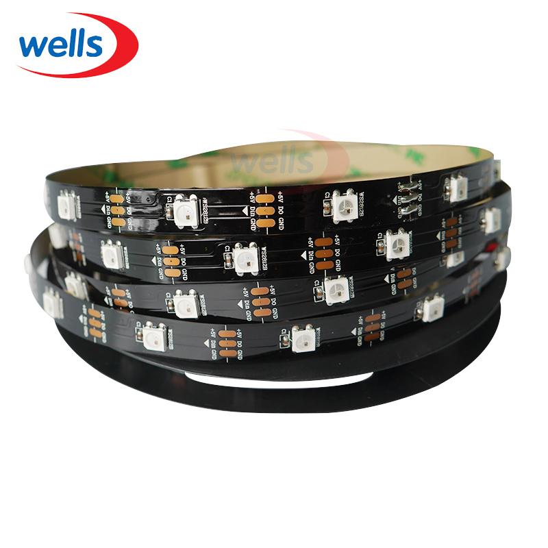 1M 30 LEDs/M WS2812B 2812 WS2812 5050 SMD RGB Digital LED Strip Light 5V NP(China (Mainland))