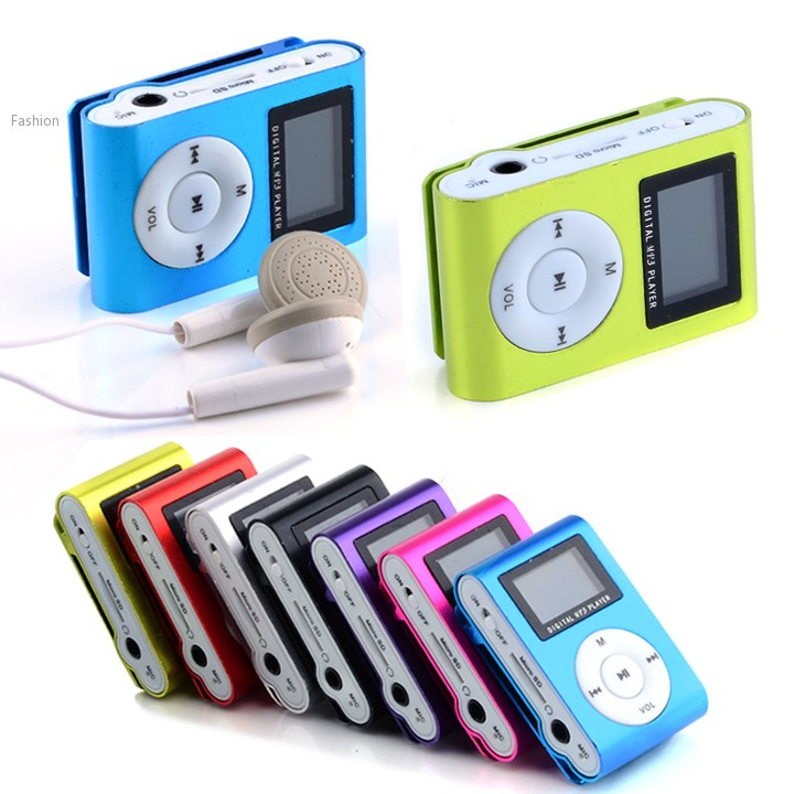 2015 NEW ARRIVAL Mini Clip metal Mp3 Player/ TF card slot Mp3/TF card support with Earphone, USB cable (China) 34(China (Mainland))