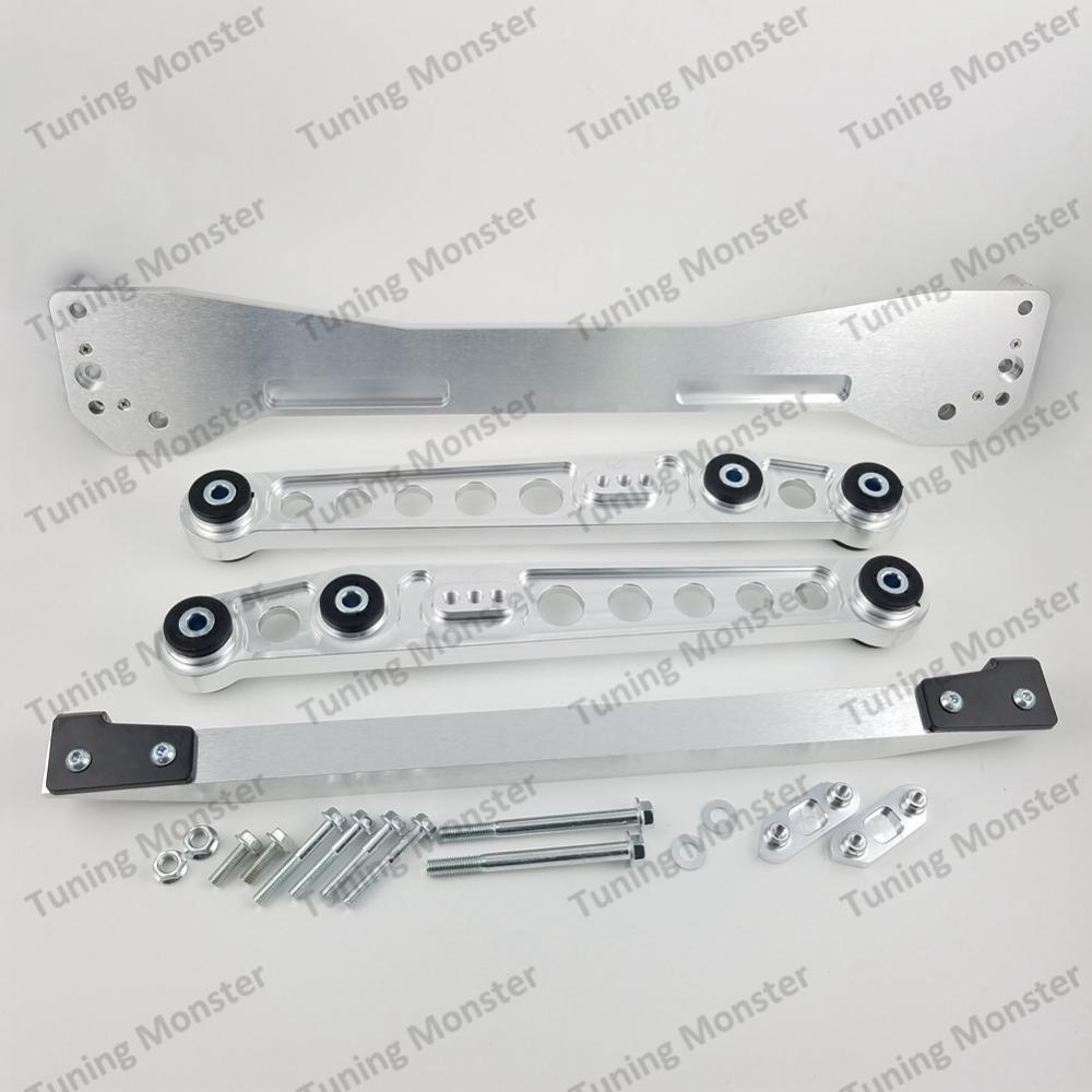 SILVER BEAKS  Rear Lower Tie Bar fits honda Civic 96-00 EJ9//EK3//EK4//EK9//