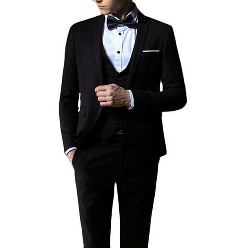 Most popular Men's Business suits classics gntleman wedding suits bridegroom Best Man Suit 4 Piece suit (jacket+pants+vest+tie)(China (Mainland))