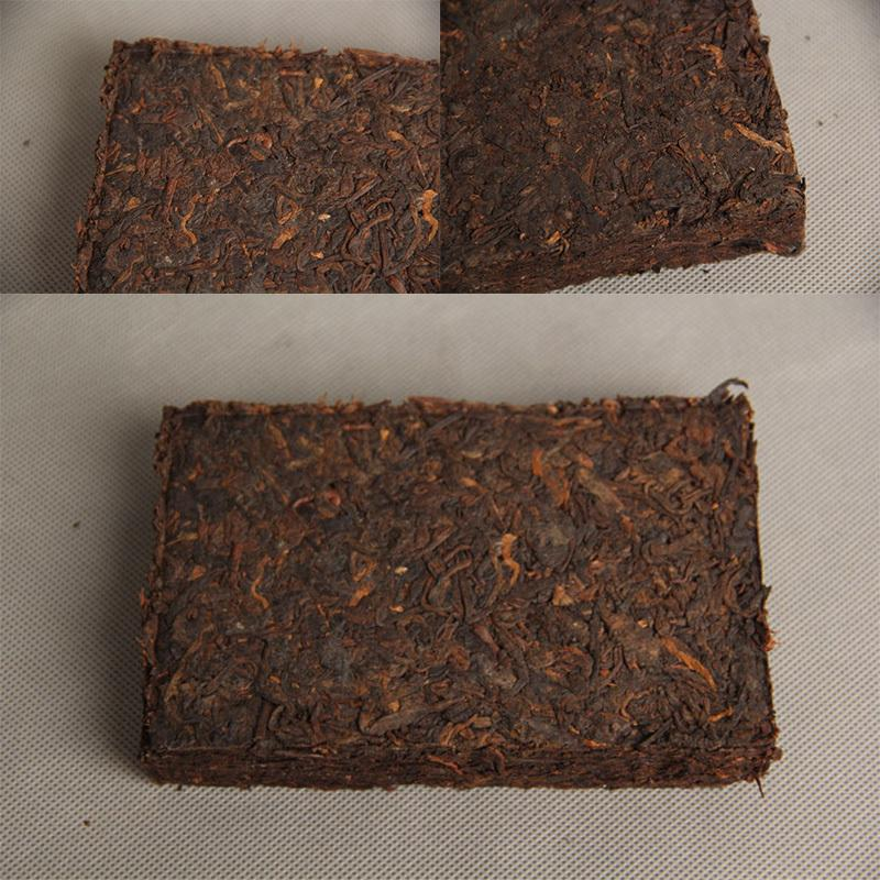 Hot Sale 1000g Seven Years Yunnan Menghai Raw Puer Puerh Ripe Cooked Old Tea Brick 74373