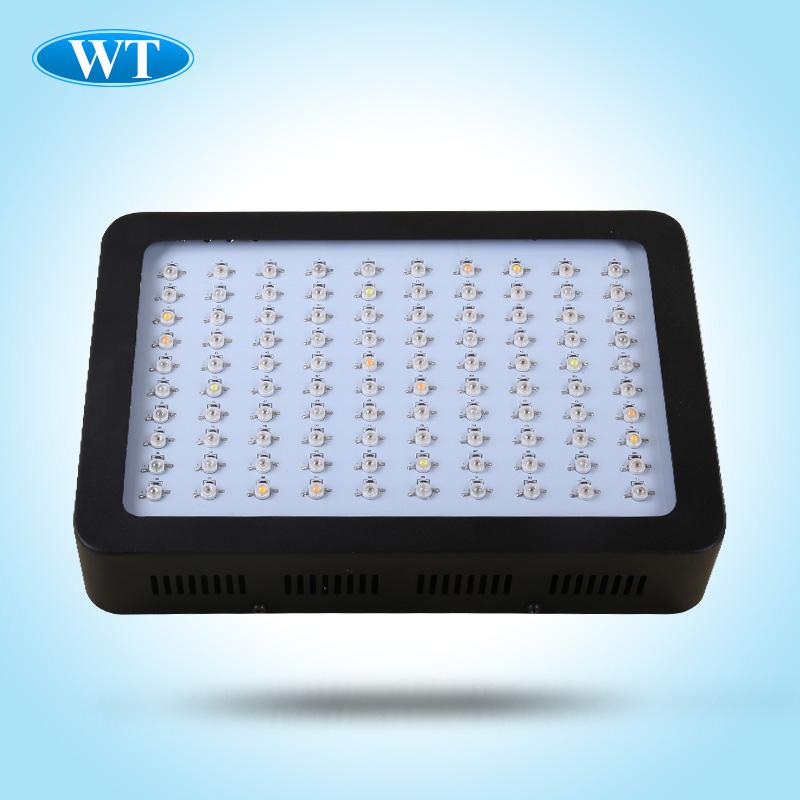 High effective 300W LED grow light (100x3W) plants fill light Grow Lights ufo grow light 2 years warranty free shipping(China (Mainland))