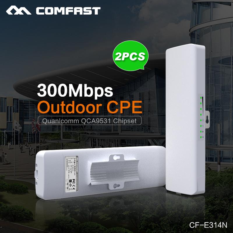 2PCS! Comfast Wireless outdoor CPE WIFI signal booster Amplifier wifi 14dBi Antenna wi fi access point CPEantenna Nanostation(China (Mainland))