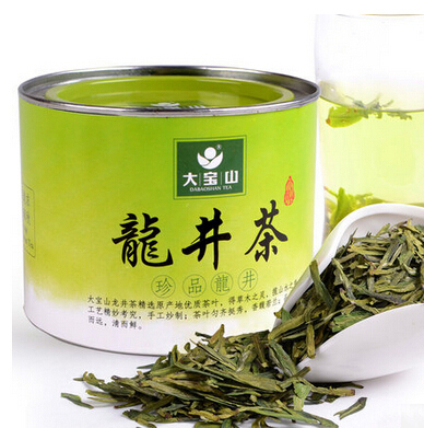 40g Green Tea Dabaoshan Brand Xihu Longjing Tea Green Organic Fragance Chinese Green Tea for Weight Loss and Beauty Beauty(China (Mainland))