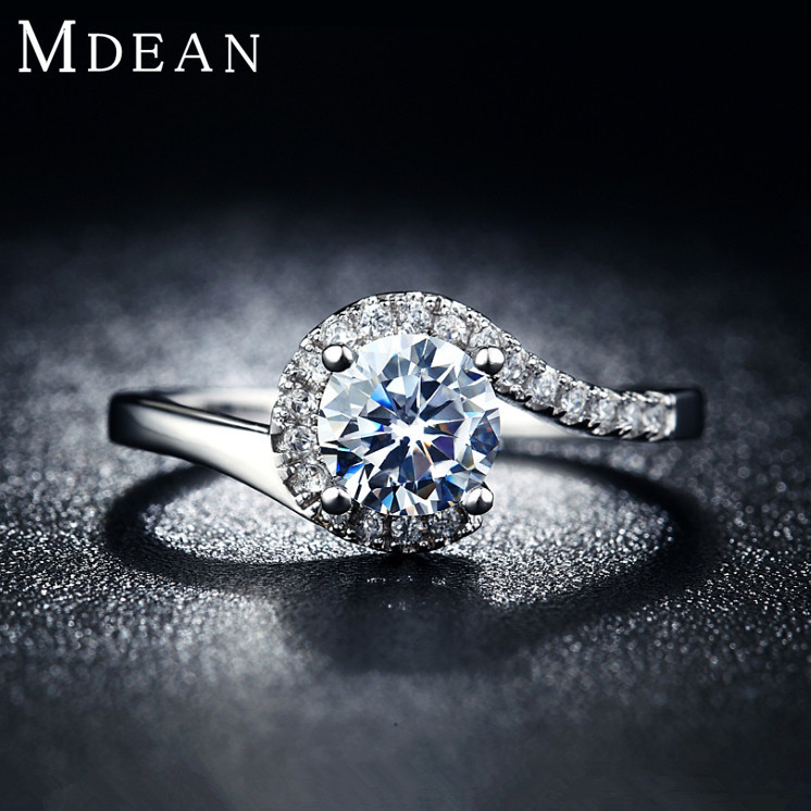 925 Silver Vintage jewelry Rings for women platinum filled engagement bague fashion wedding bague for female Bijoux MSR049(China (Mainland))