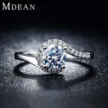 S925 Vintage jewelry Rings for women platinum filled engagement bague fashion wedding bague for female Bijoux MSR