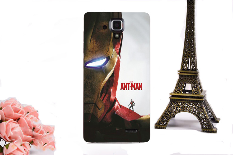 New Arrival Ultrathin Hard Plastic Case For Lenovo A536 A358T Antman Batman Superman Star Wars Deadpool Pattern Phone Case Cover