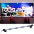 42LED Aquarium LED Light Submersible Underwater Blue White Colors Decorative Fish Tank Lights Bar Waterproof Lamp