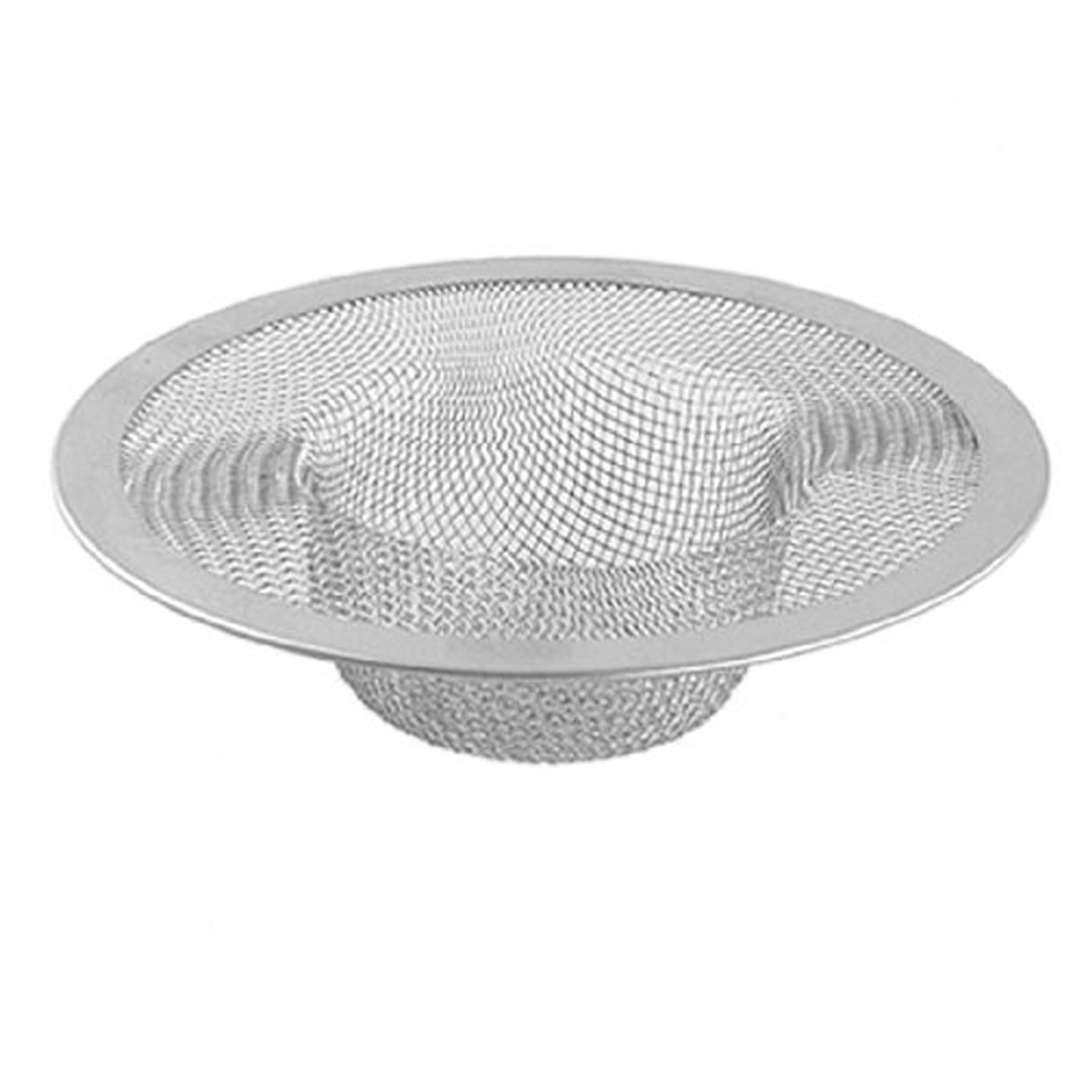 2015 Highly Commend New Silver Kitchen Basket Drain Garbage Stopper Metal Mesh Sink Strainer <br><br>Aliexpress