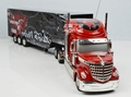 Detachable Remote Control Big Size 1 32 RC 6CH container heavy truck with lights and sounds