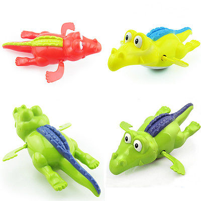 Clockwork Diver Toy Pool Water Swimming Crocodile Wind-up Toy For Baby Kid Gift(China (Mainland))