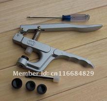 T3 / T5 / T8 de plástico de resina sujetador rápido de instalación herramientas asoció up con el botón de presión alicates de la abrazadera de presión de la mano máquina