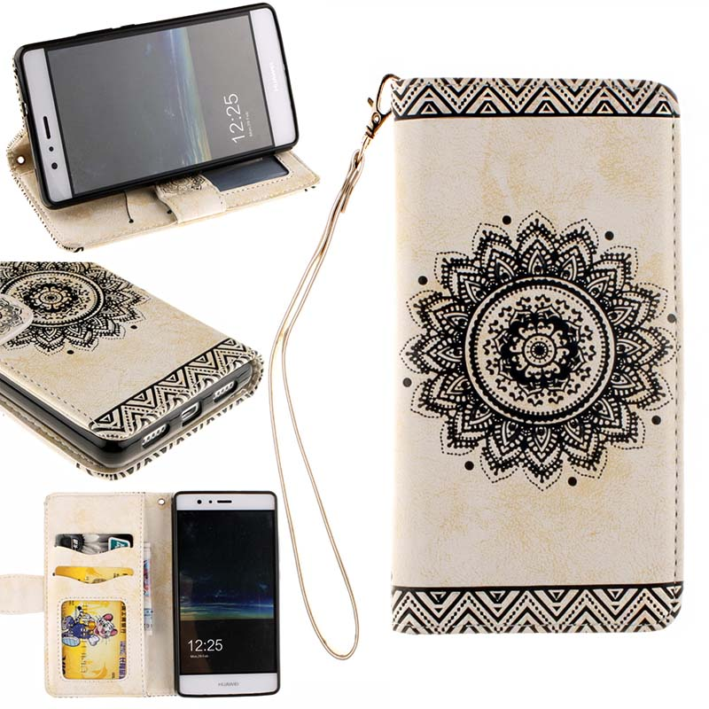 P9 Lite Case for Huawei P9 Plus Case G9 Flip Case Cover for Huawei P8 Lite Wallet Case with Original Handline for Huawei P8 Mini(China (Mainland))
