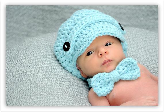 Вязание для мальчиков шапки для новорожденных 25