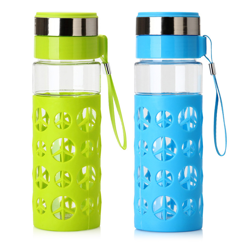 Water Bottle Volume: Plastic Water Bottle With Tea Infuser Bottle Travel Mug