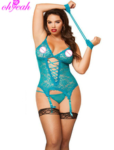 R7600 New arrival Fantasias sexy erotic Sexy underwear for sex ohyeah Langerie sexy Plus size lingerie Lace babydoll