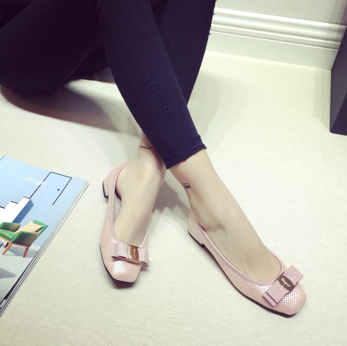 Latest arrival  flats flat shoes Women's Flat Ballet shoes comfortable shoes women shoes 329-19   Free Shipping