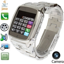 TW810 Sturdy Stainless Steel Touch Screen Watch Mobile Phone with Camera AVA / Bluetooth Single SIM  Quad Band(China (Mainland))