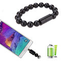 Beads Micro USB Data Sync Bracelet Charger Cable Cord For Samsung Galaxy Note7 S7 S6 S5