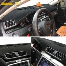 Xukey Fit 2006-2015 Volkswagen VW Passat B6 B7 2009-2017 CC Dashboard Cover Dashmat Dash Mat Pad Board - MISIMA_Bestclickshop store