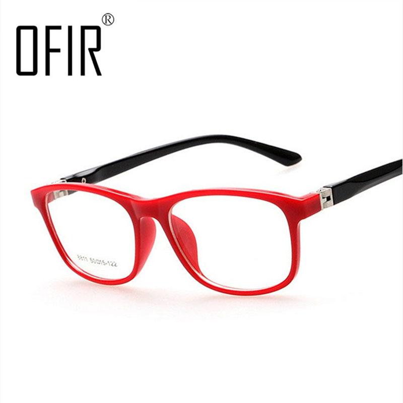OFIR Boys Girls Plane Mirror Reading Glasses Frames Children Optical Spectacle Frame lunettes de vue enfant 8811