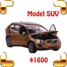 Free Shipping Rastar 41600 VOLOV XC60 1:24 Alloy Model Car Vehicle Toys With Opening Car Doors Simulation Engine Structure Cars