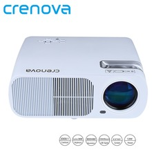 Crenova 2600 Lumens Video Projector Home Cinema Theater Projector Support 1080P HD with 5.0 Inch LCD TFT Display Proyector(China (Mainland))