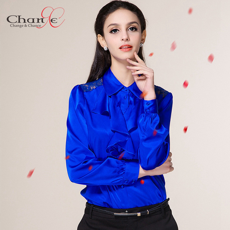 Royal Blue Ladies Tops