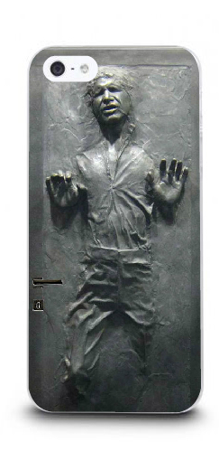 Mobile Phone Cases Hot 1pc Star Wars han solo Protective White Hard Case For Iphone 4