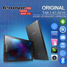 "Original Lenovo Tablet PC 7"" 1024*600 IPS TAB 2 A7-10 WiFi 8GB A7-30 3G WCDMA Phone 16GB MTK8382M 0.3MP+2MP Android 4.4 GPS(China (Mainland))"
