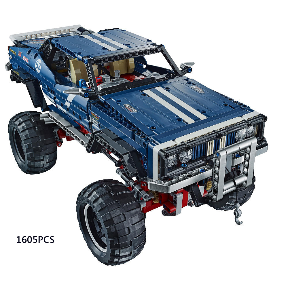 Technics 4X4 Crawler Exclusive Edition Jeep building block RC cars Sport Utility Vehicle model lepins compatible lego41999 toys(China (Mainland))