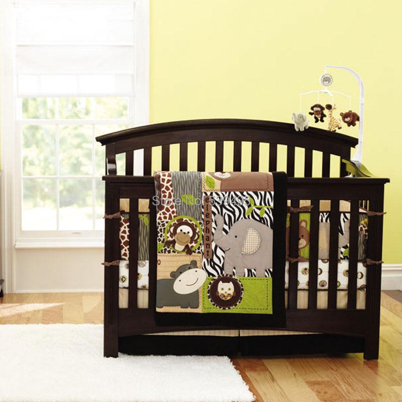 Фотография Baby bedding set tropical animal baby bedding