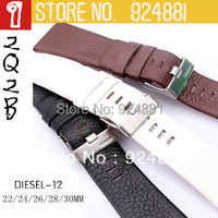 Brand BAND DZ4216/1405/1542/4210/4296 New Top Genuine Leather Watchband,22 24 26 28 30mm,Watches Band Strap Belt,Free Shipping