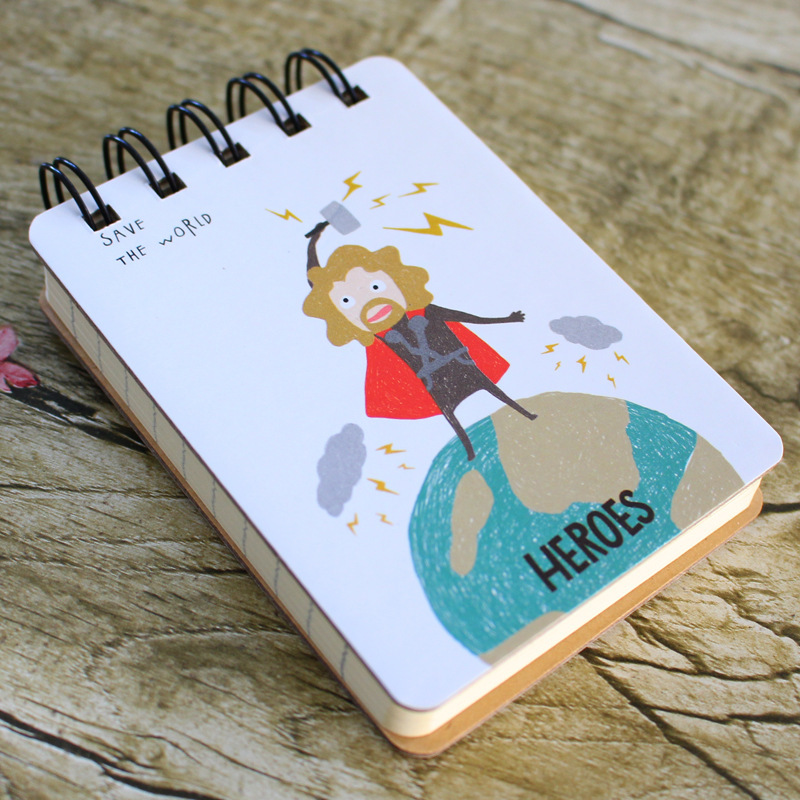 Hot Sale School Office Stationery Students Writing Practicing Paper Notebook Cute Mini Composition Book Promotional Gifts PL(China (Mainland))