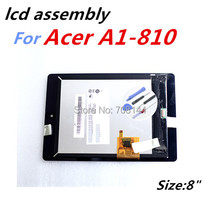 Original New For Acer iconia tab A1-810 A1 810 A1-811 A1 811 LCD Display Touch Screen Digitizer Assembly Replacement B080XAT01.1(China (Mainland))