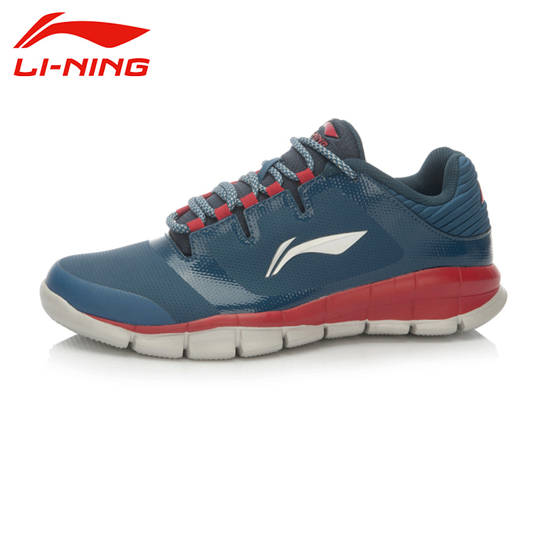 LI-NING New Arrival Brand Professional Sports Training Jogging Walking Series Patchwork Style Shoes For Male AFHK033 XYP098