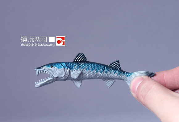 Animal model toy Ch * pMei Genuine bulk animal models - ferocious sea creatures ! Predatory fish - gar(China (Mainland))
