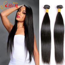 wholesale price 7a grade indian temple virgin human hair extensions very straight hair with wavy ends can be dyed