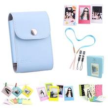 7 in 1 Fujifilm Instax Mini Accessories Bundle Set( Blue Instax Mini Film Photo Bag/ Mini Album/ 3 L Model Frame…)