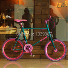"2016 Hot Brand New Mini 20"" Bike Biciclet Variable Speed Aluminum Alloy Frame BMX Road Bike Student Bicycle for Teenagers Girls(China (Mainland))"