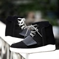 New Men High Tops Casual Shoes Fashion Comfortable Breathable Lace Up Flats Cotton Winter Warm Fashion