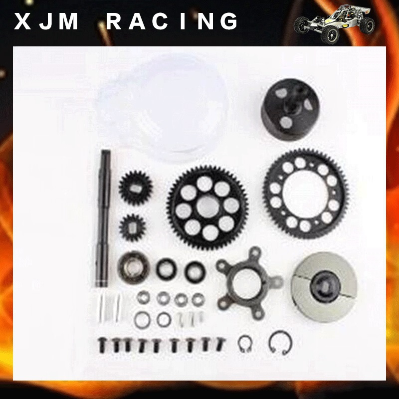1/5 rc car racing parts,2 speed transmission set fit HPI Rovan Baja 5B KM truck free shipping